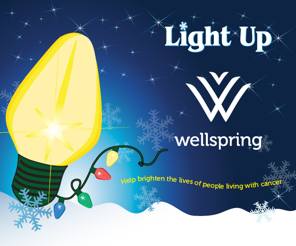 Light Up Wellspring Advertisement
